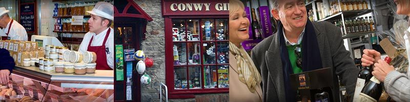 shopping in Conwy town